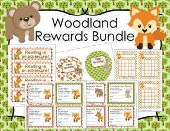 Woodland Forest Animals Incentive Rewards Bundle