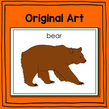 Woodland Animal Fun Fact Cards (informational text)