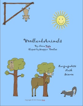 Woodland Animals Language Arts and Math Unit for First Grade