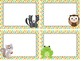 Woodland Animals Multipurpose Labels - Editable