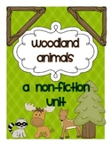 Woodland Animals Non-fiction Reading and Writing Unit