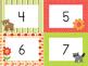 Woodland Animals Number Cards 0-100