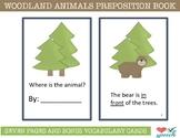 FREEBIE Woodland Animals Preposition Book