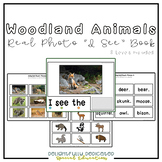 "Woodland Animals Real Photo ""I See"" Book for Special Education Classrooms"