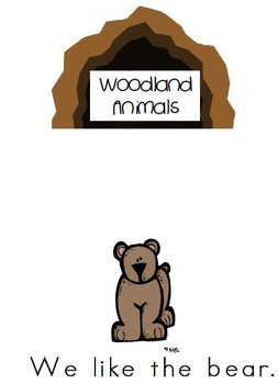 Woodland Animals Shared Reader, 2 Emergent Readers and Picture Cards