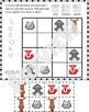 Sudoku Cut and Paste Activity - Woodland Animals