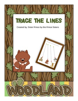 Woodland Animals Trace the Lines