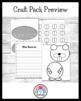 Woodland Animals Craft Pack: Squirrel,Beaver,Bear,Fox,Raccoon,Deer,Owl,Rabbit