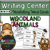 Woodland Animals Word Cards
