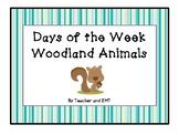 Woodland Animals Days of the Week