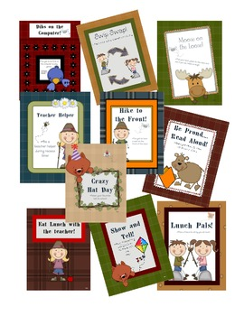Free and Easy Behavior Rewards--Woodland Themed