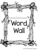 Woodland/Camping Themed Portable Word Wall