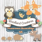 Woodland Classroom Decoration Bundle-Editable!