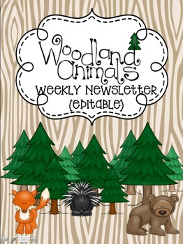 Woodland Classroom Products Bundle