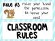Woodland Classroom Rules