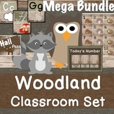 Woodland Classroom Decor Set Mega Bundle