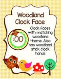 Woodland Clock Face