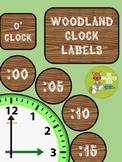 Woodland Clock Labels