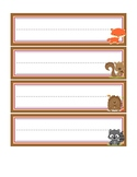 Woodland Collection-Name cards