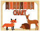 Woodland Creature Behavior Clip Chart - 3 Different Styles