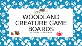 Woodland Creature Blank Board Games