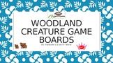 Woodland Creature Blank Board Games