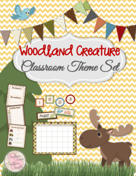 Woodland Creature Classroom Collection