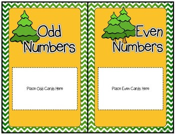 Woodland Creature Odd and Even Number Sort
