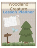 Woodland Creature Teacher Planner