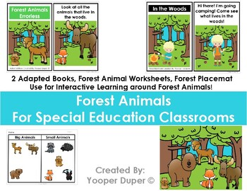 Forest Animals for Special Education