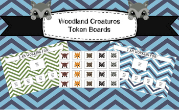 Woodland Creatures/Forest Themed Token Boards