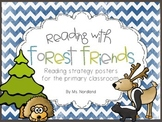 Forest Friends Reading Strategy Posters
