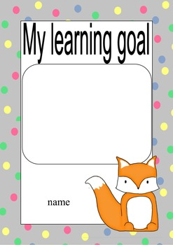 Woodland Creatures learning goal posters