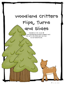 Woodland Critter Flips, Slides and Turns