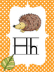 Woodland Critters Alphabet Line