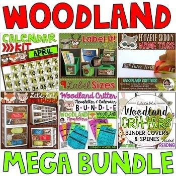 Woodland Critters Mega Bundle