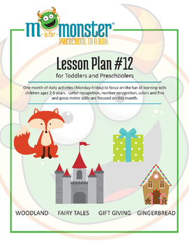 Woodland, Fairy Tales, Gift Giving & Gingerbread Lessons