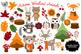 Woodland Fall Forest Animals - Autumn Fox Friends Digital Clip Art Set