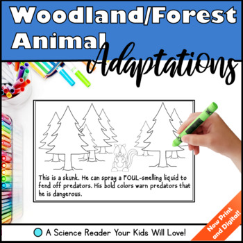 Woodland/Forest Animal Adaptations - A Science Reader