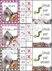 Woodland Forest Animals Skip Counting Clip it Cards