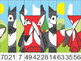 Woodland Forest Animals Skip Counting Picture Puzzle