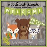 Woodland Forest Friends Classroom Decor Bundle