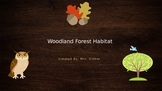 Woodland Forest Habitat PowerPoint