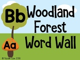 Woodland Forest Word Wall
