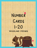Woodland Friends Number Set