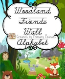 Woodland Friends Wall Alphabet Cursive