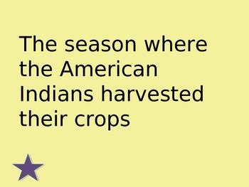 Woodland Indians Jeopardy
