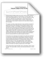 Woodland Indians: The Iroquois League