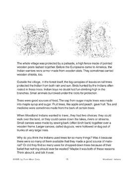 Woodland Indians: Trees