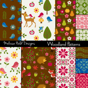 Woodland Patterns